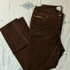 Chico's Brown Cordaroys